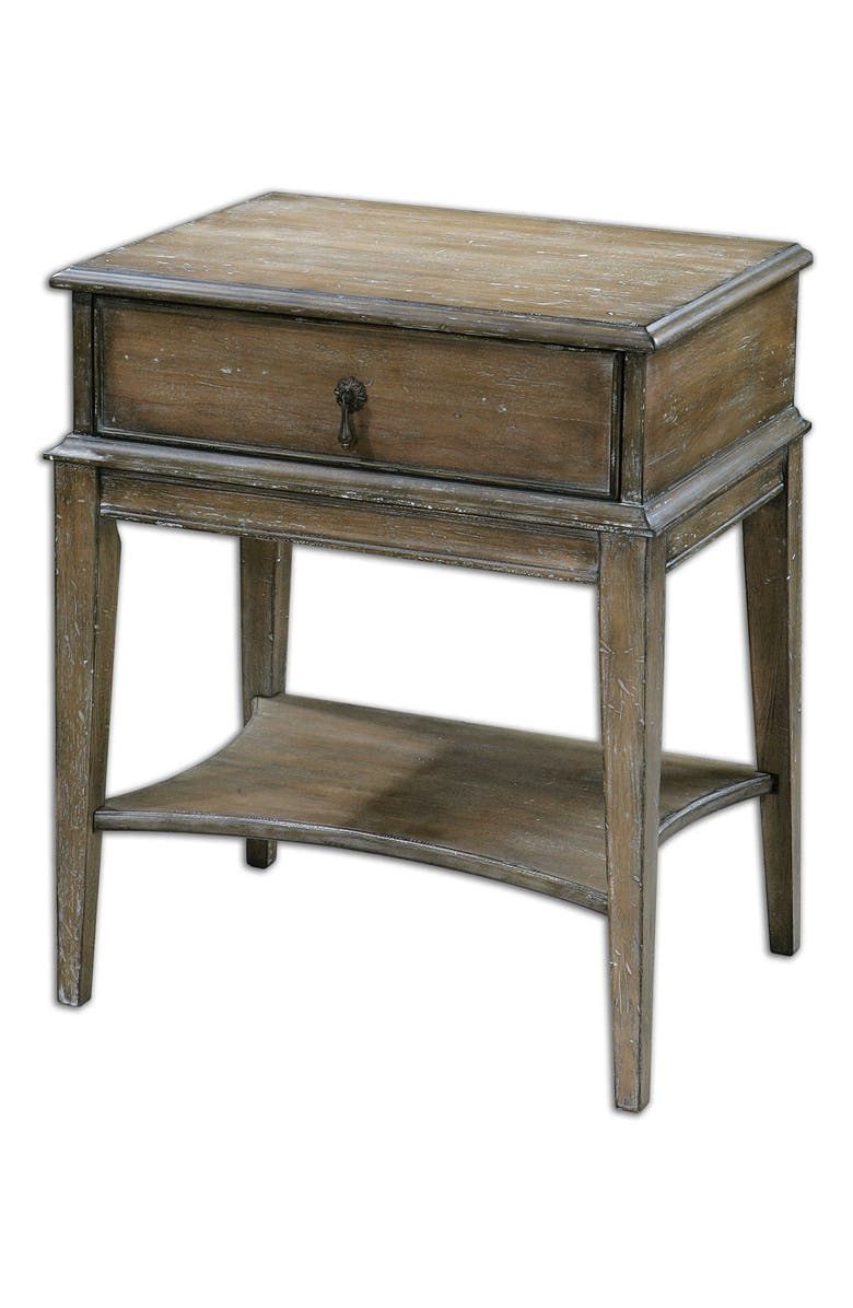 UTTERMOST Hanford Accent Table, Main, color, WOODTONE