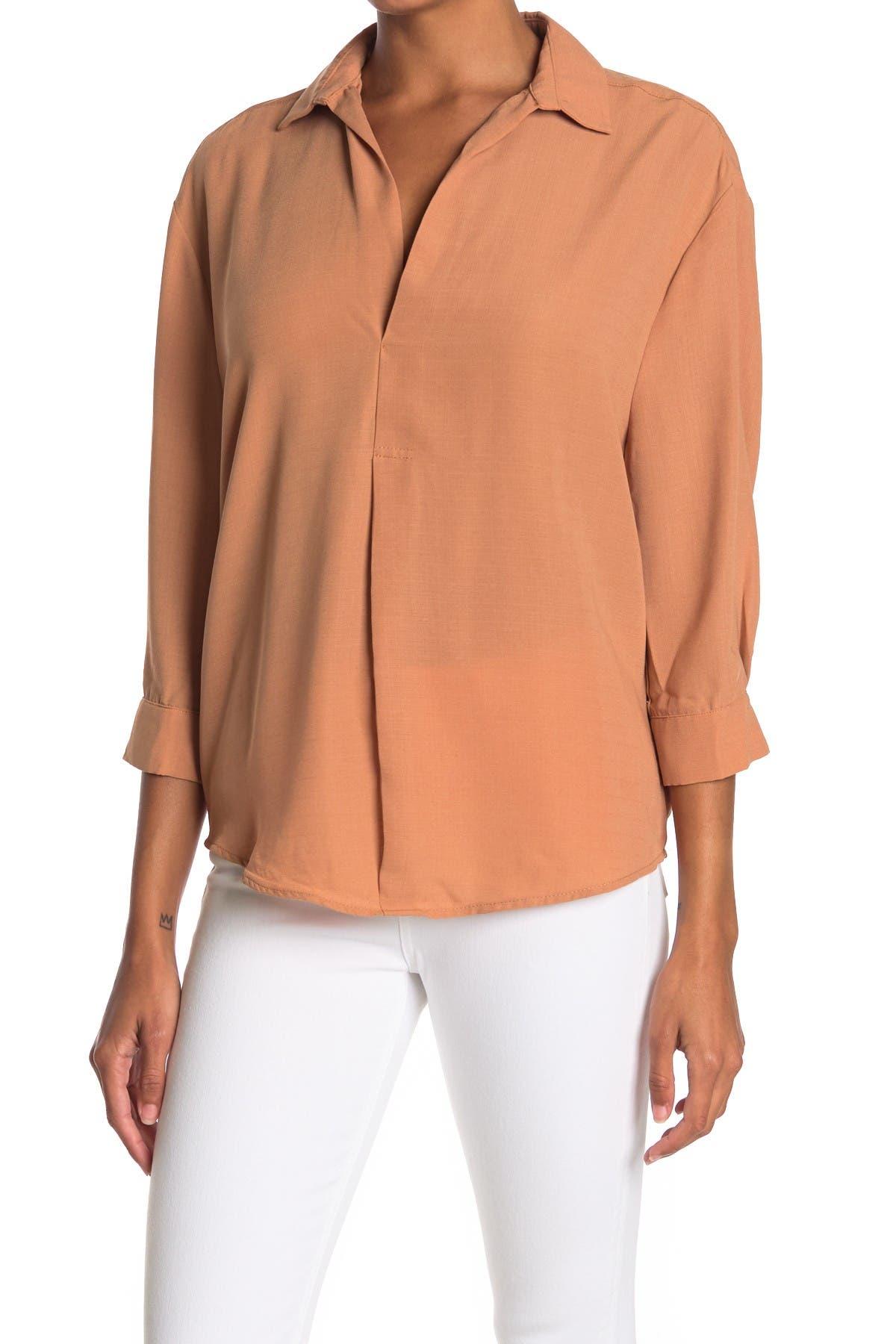 Image of HYFVE Front Pleat Shirt