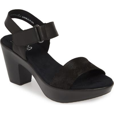 Munro Willa Sandal, Black