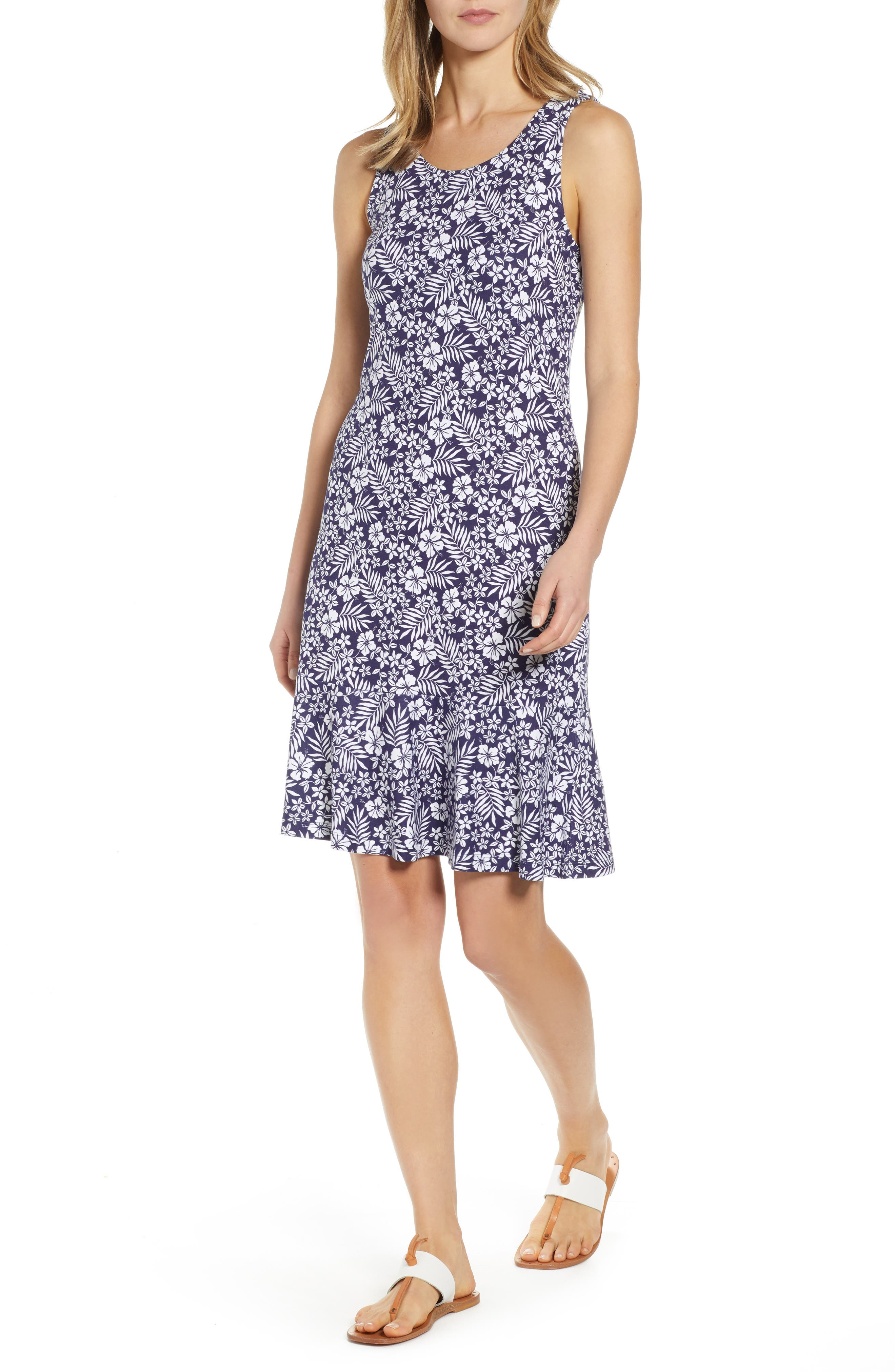 Tommy Bahama Florico Floral Dress, Blue