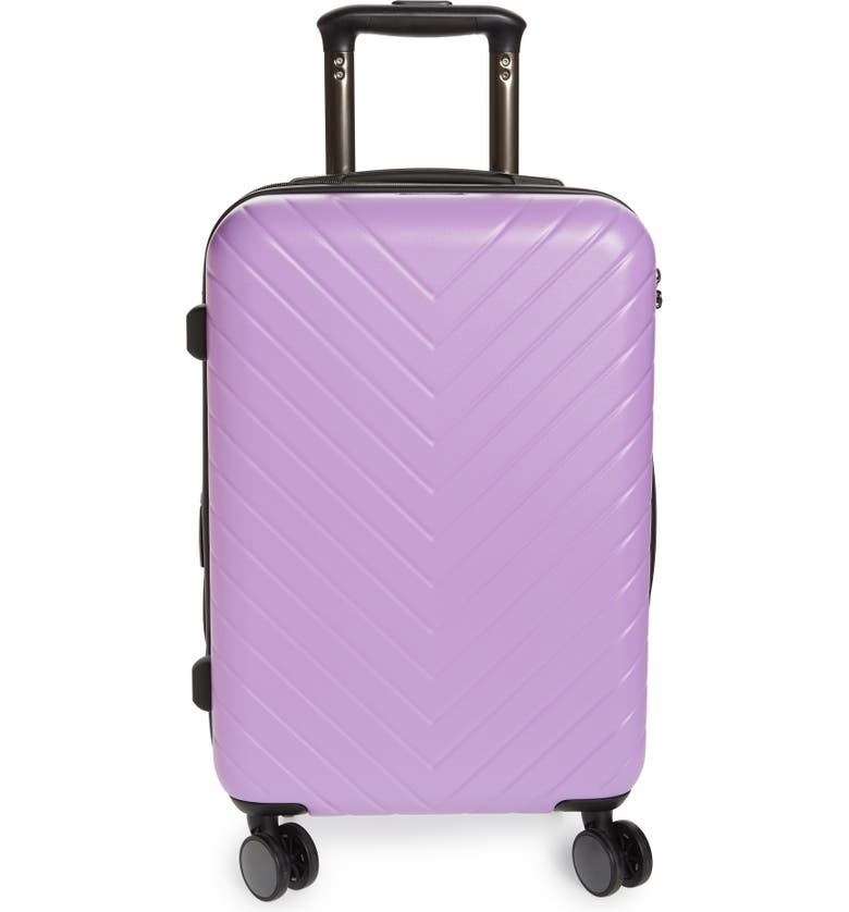 NORDSTROM Chevron 20-Inch Spinner Carry-On, Main, color, 530