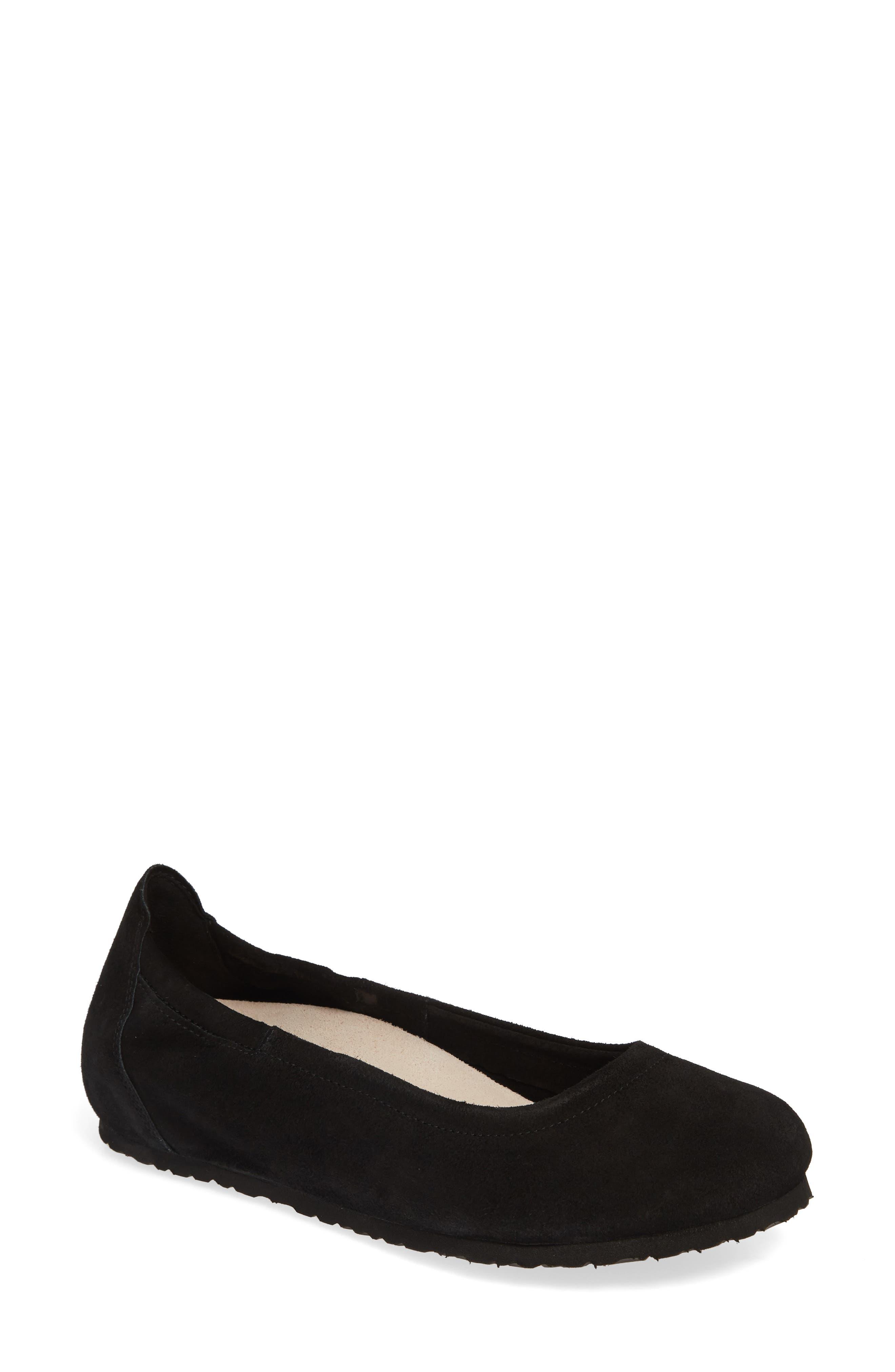 Birkenstock Celina Ii Ballet Flat,5.5 - Black