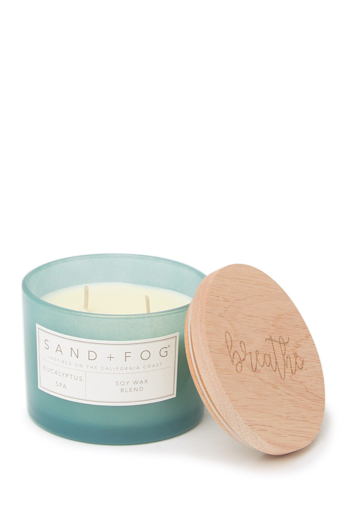 Image of SAND AND FOG 12 oz. Sea Water Breathe Candle