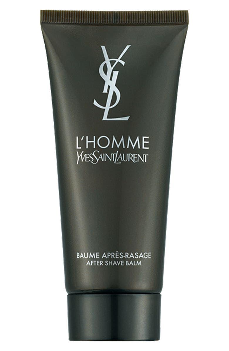 YVES SAINT LAURENT 'L'Homme' After Shave Balm, Main, color, 000