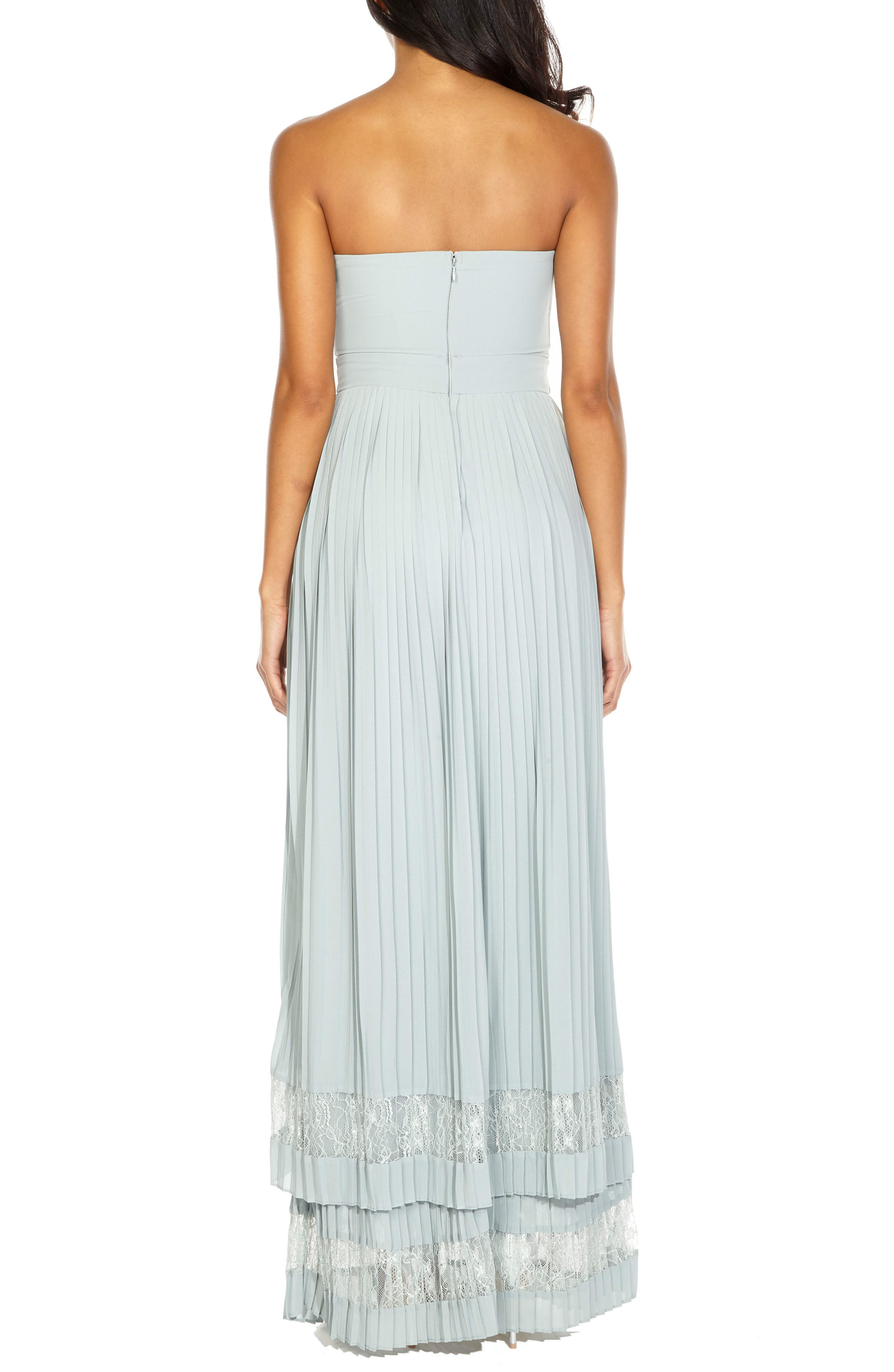 ,                             Akira Strapless Gown,                             Alternate thumbnail 2, color,                             330
