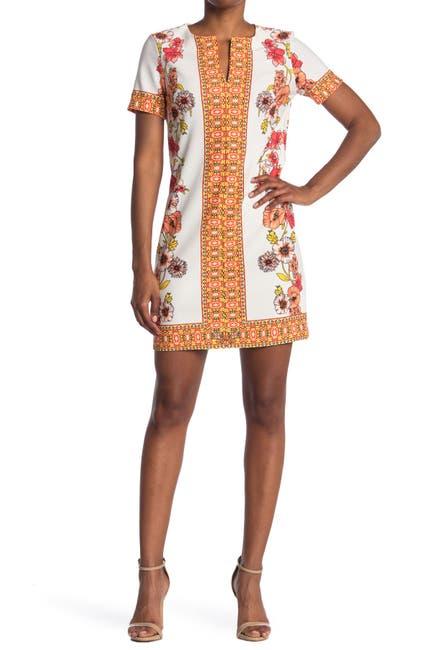Image of TASH + SOPHIE Printed Shift Dress