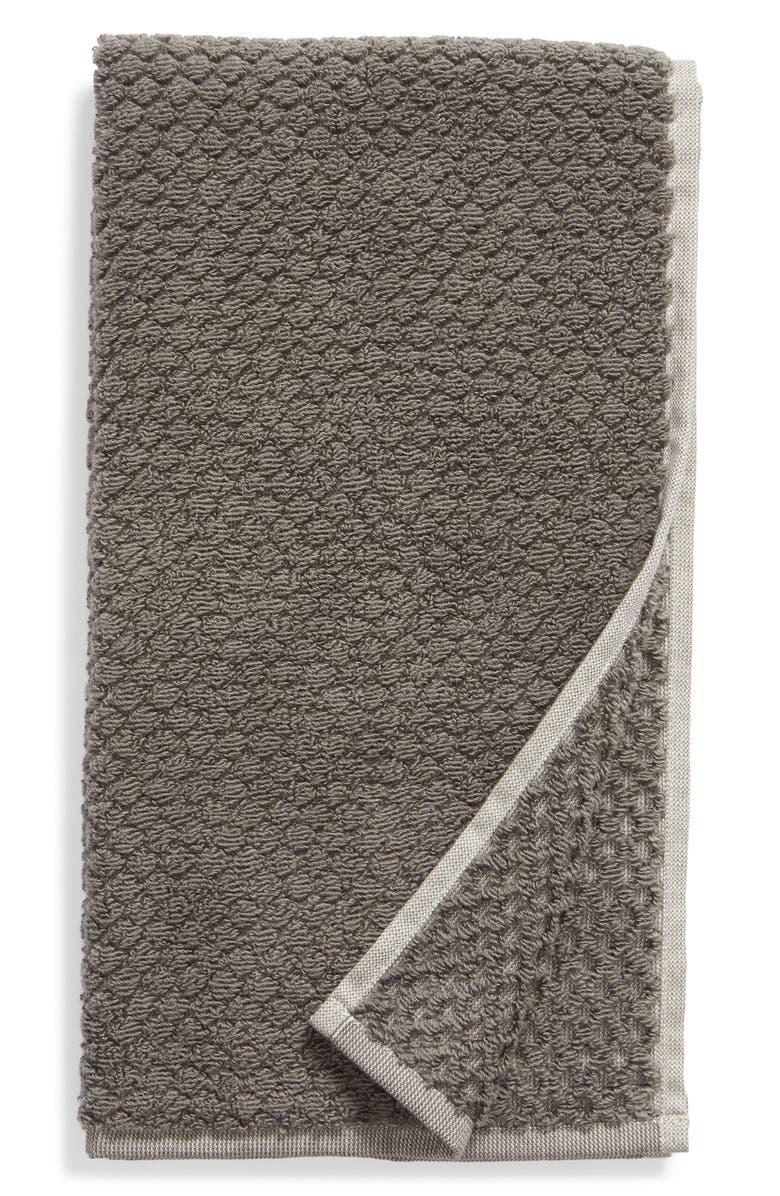 NORDSTROM Tessa Dot Hand Towel, Main, color, GREY MAGNET