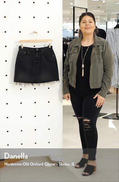Urban Outfitters Austin Cutoff Denim Miniskirt, sales video thumbnail