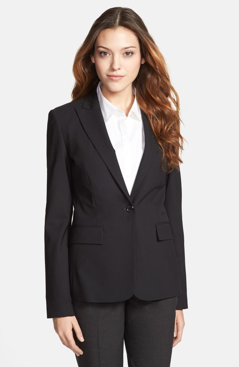 BOSS 'Juicy 6' Jacket, Main, color, 001