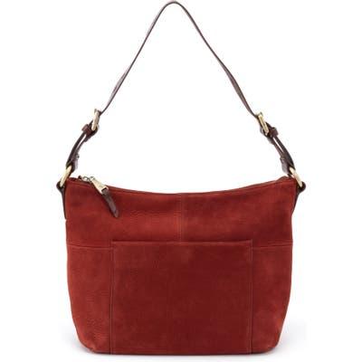 Hobo Charlie Calfskin Leather Shoulder Bag - Brown