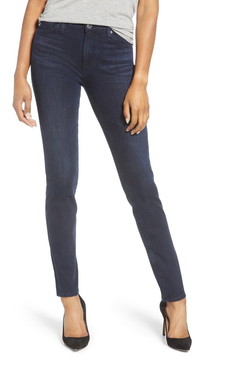 AG The Prima Skinny Jeans, Main, color, INDIGO EXCESS