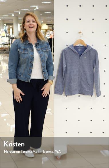 Full Zip Hooded Sweatshirt, sales video thumbnail