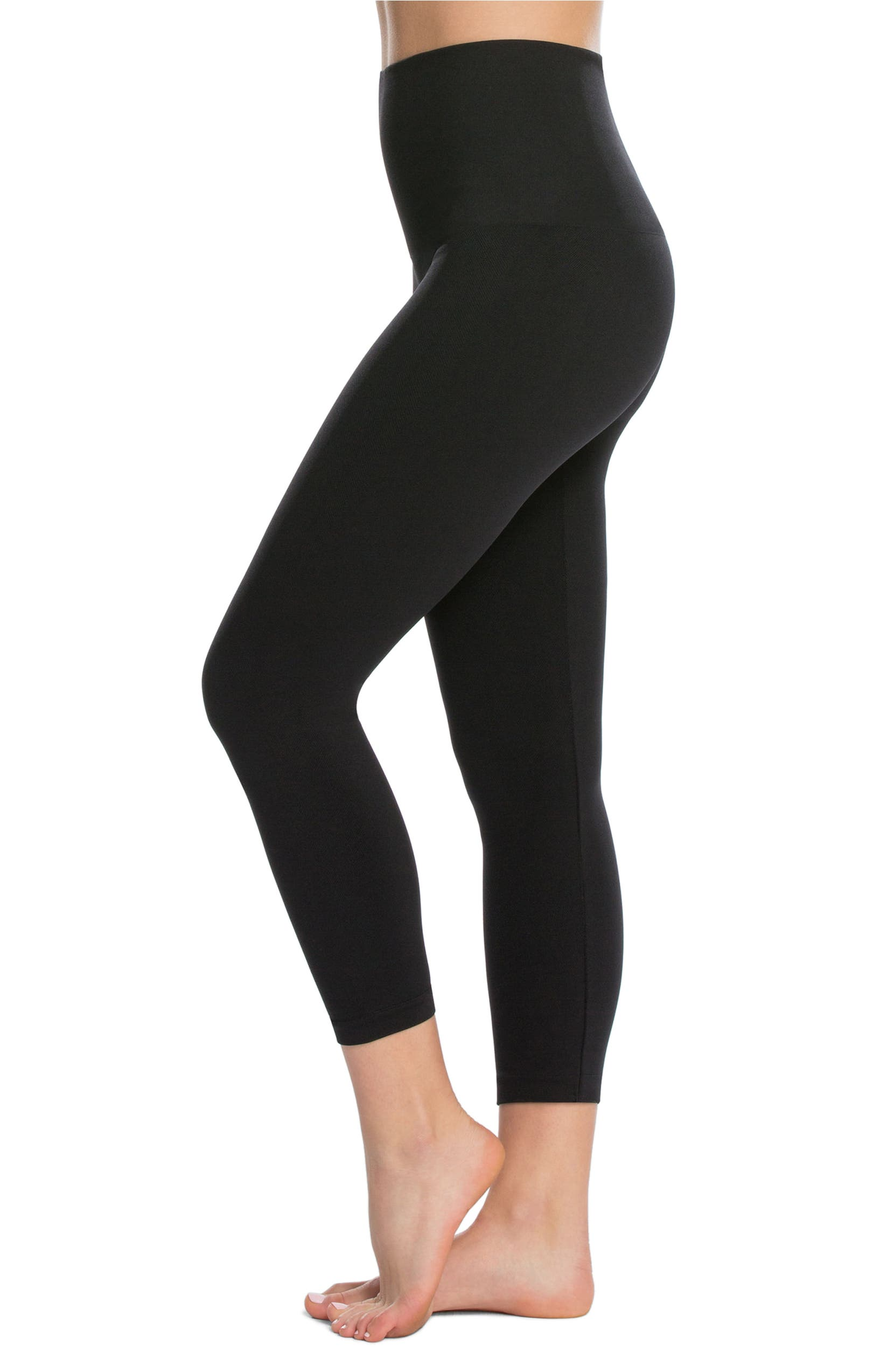 3204fe3274f35e SPANX Look At Me Now Crop Seamless Leggings | Nordstrom