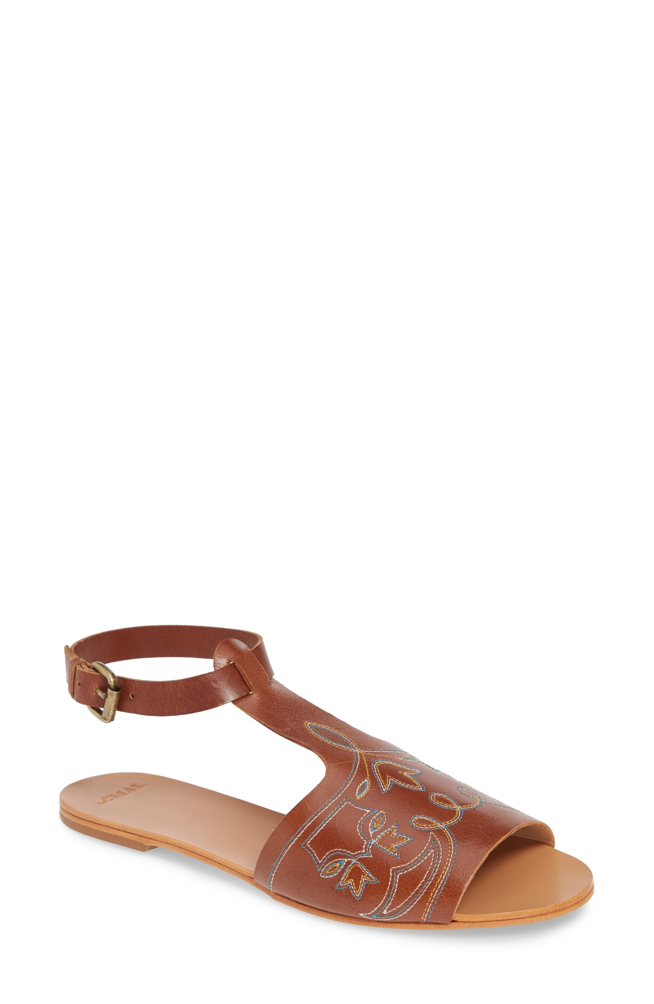 The Great. The Western Sandal, Brown