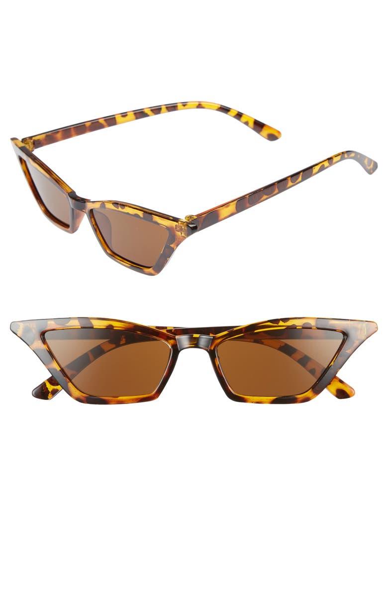 SHADY LADY 54mm Geometric Sunglasses, Main, color, 200