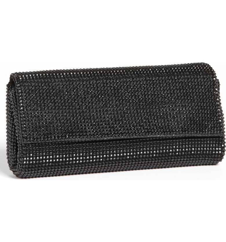 Whiting Davis Pyramid Mesh Clutch