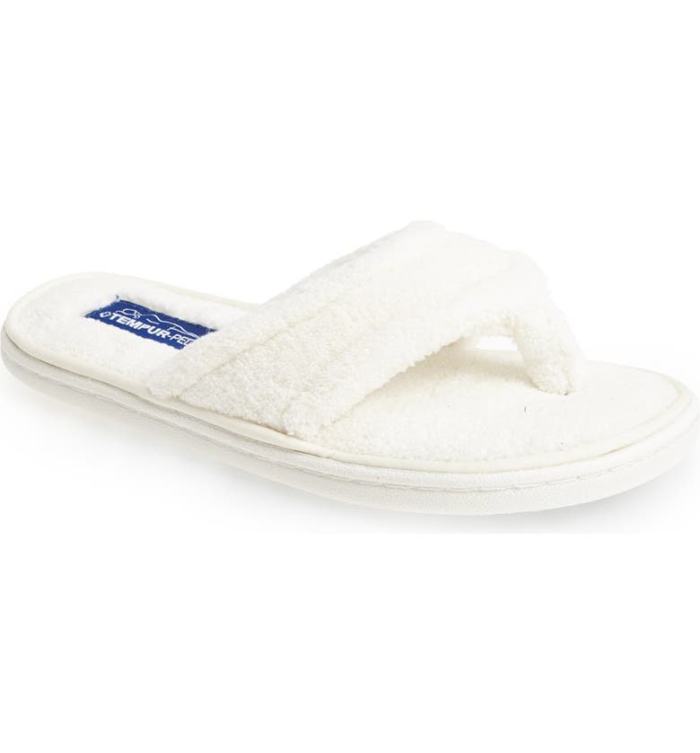 TEMPUR-PEDIC<SUP>®</SUP> 'Airsock' Thong Slipper, Main, color, 100