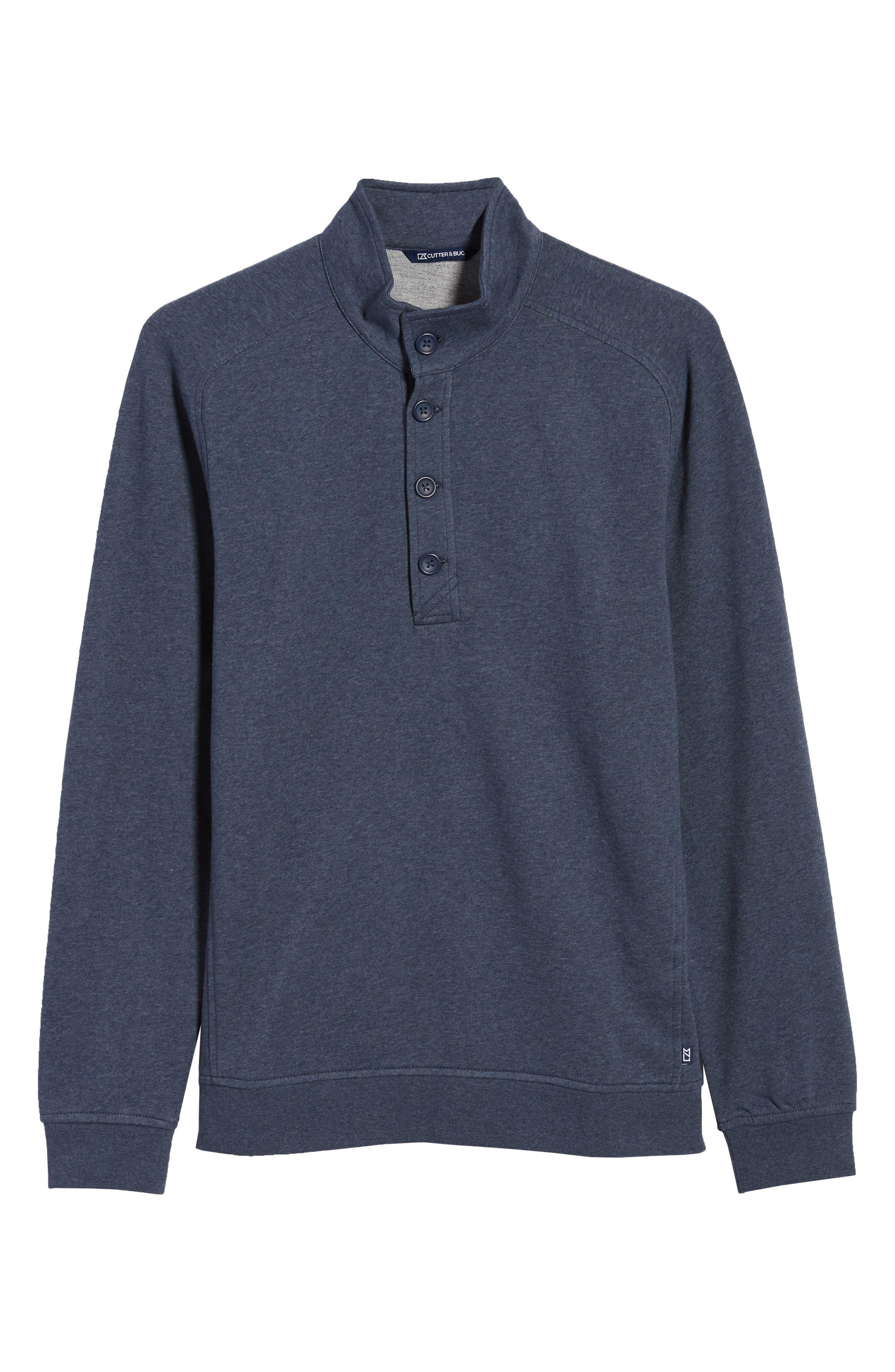 Saturday Mock Neck Sweatshirt