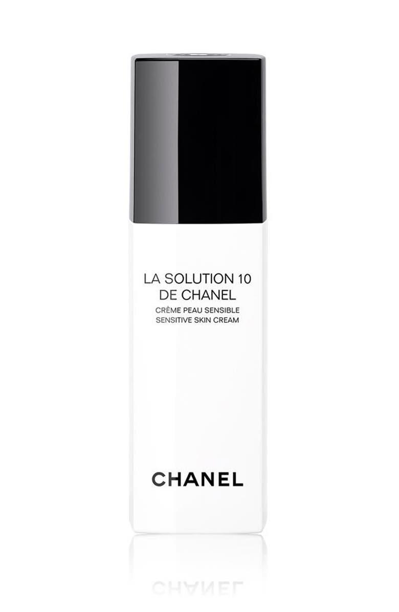 CHANEL LA SOLUTION 10 DE CHANEL <br />Sensitive Skin Cream, Main, color, NO COLOR