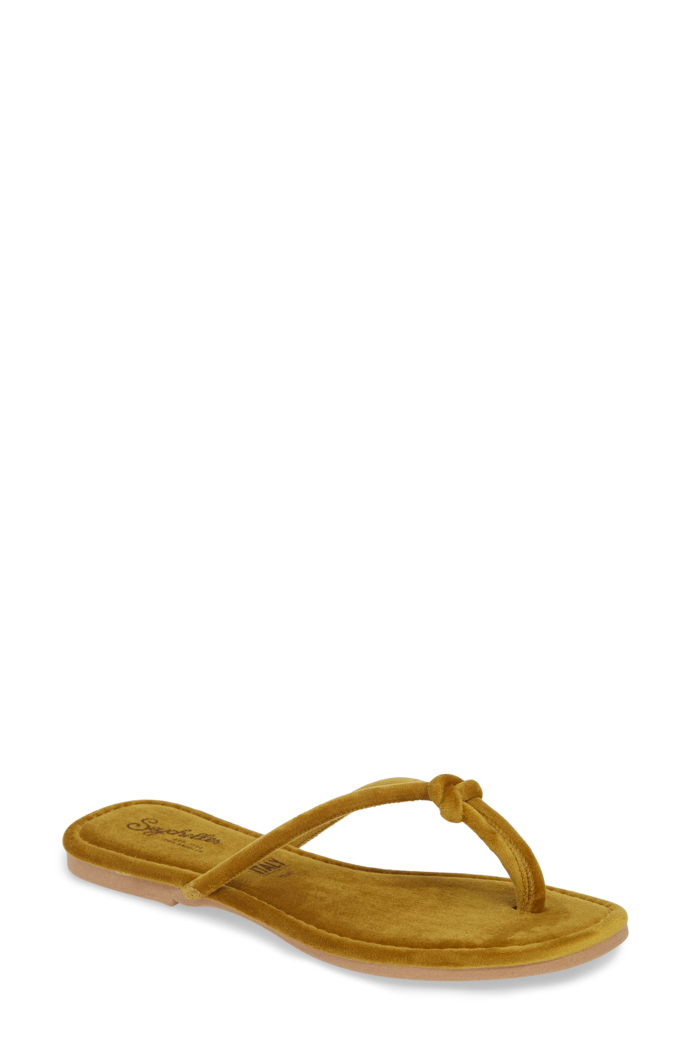 Seychelles Lifelong Flip Flop, Yellow