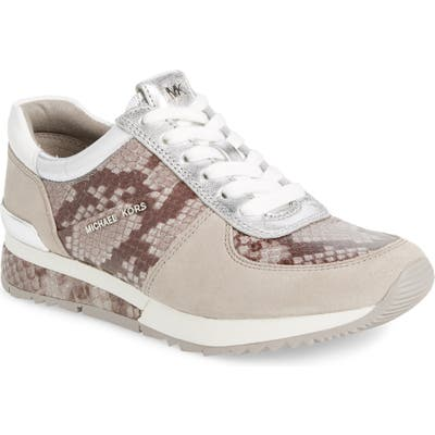 Michael Michael Kors Allie Wrap Trainer Sneakers- Grey