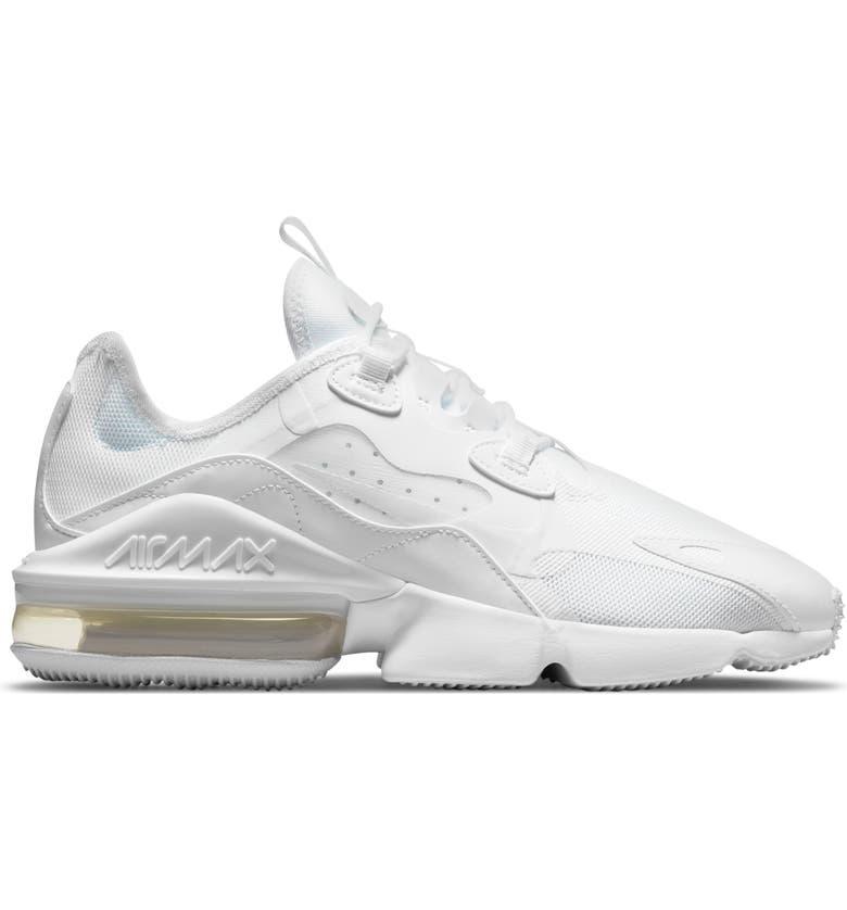 NIKE Air Max Infinity 2 Sneaker, Main, color, 101 WHITE/WHITE