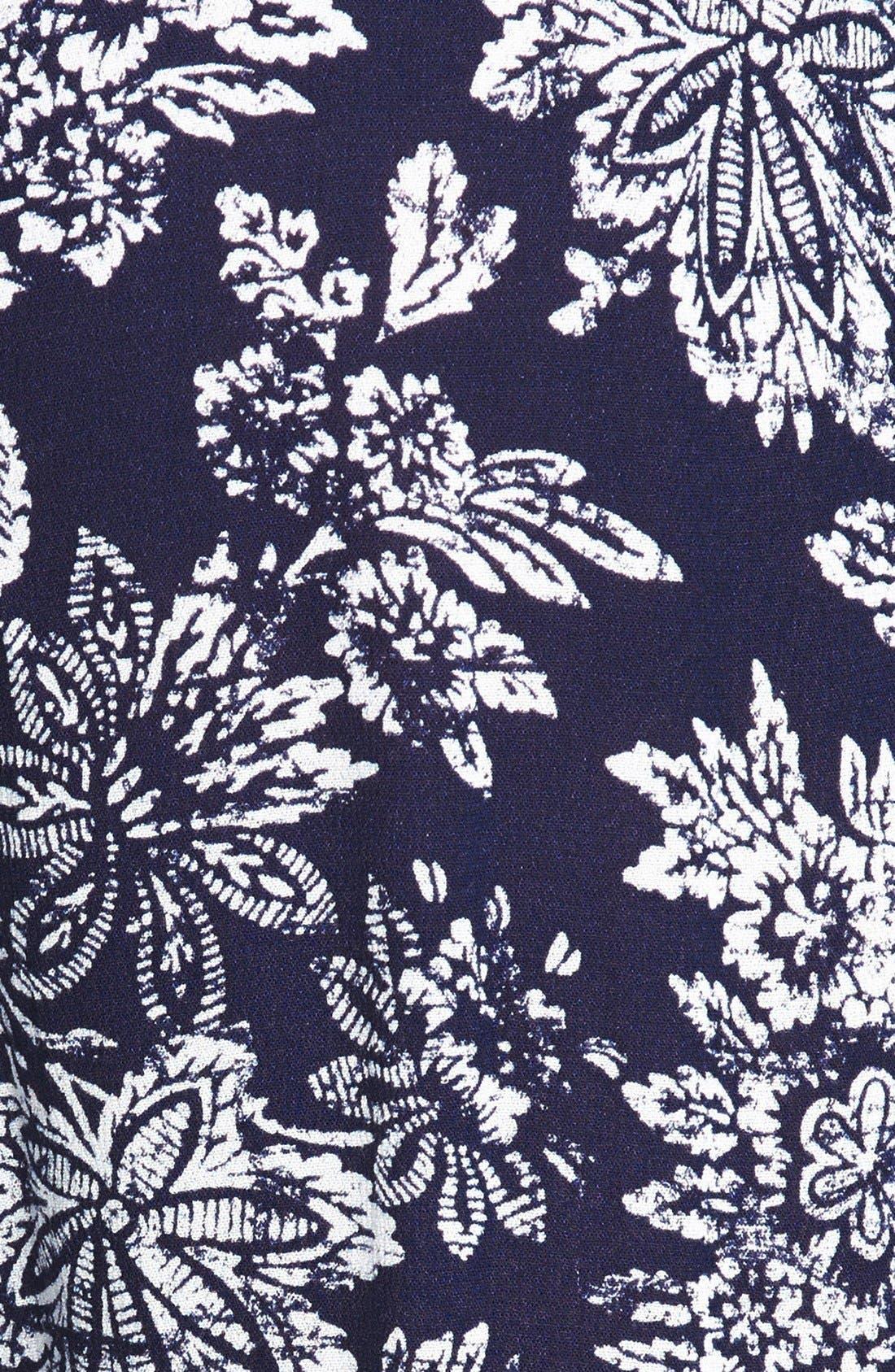 ,                             Floral Print Pants,                             Alternate thumbnail 2, color,                             435
