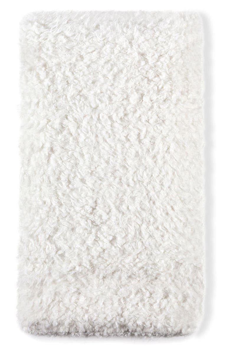 POM POM AT HOME Tula Oversize Throw Blanket, Main, color, WHITE