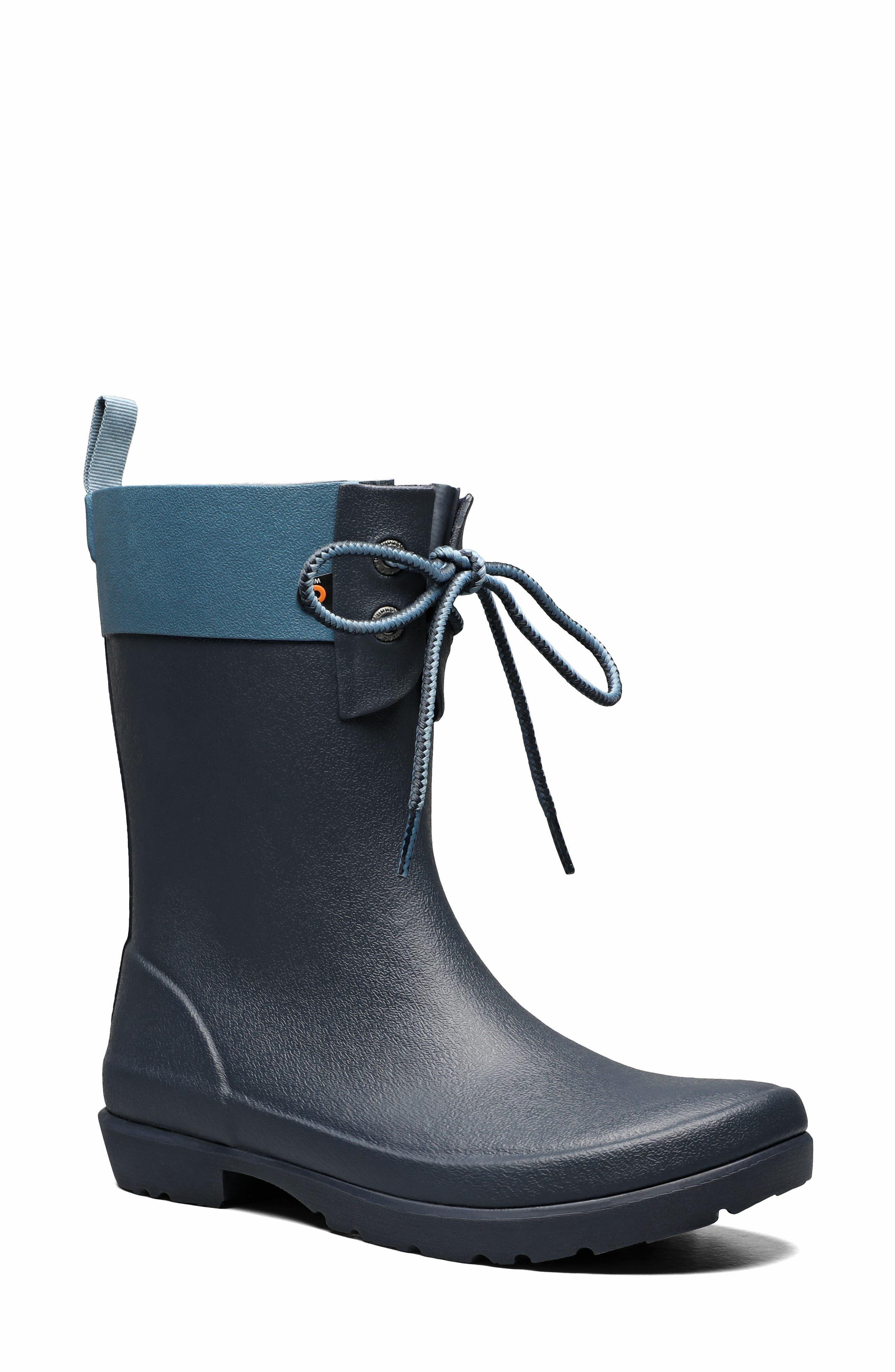 Flora Lace Top Waterproof Rain Boot