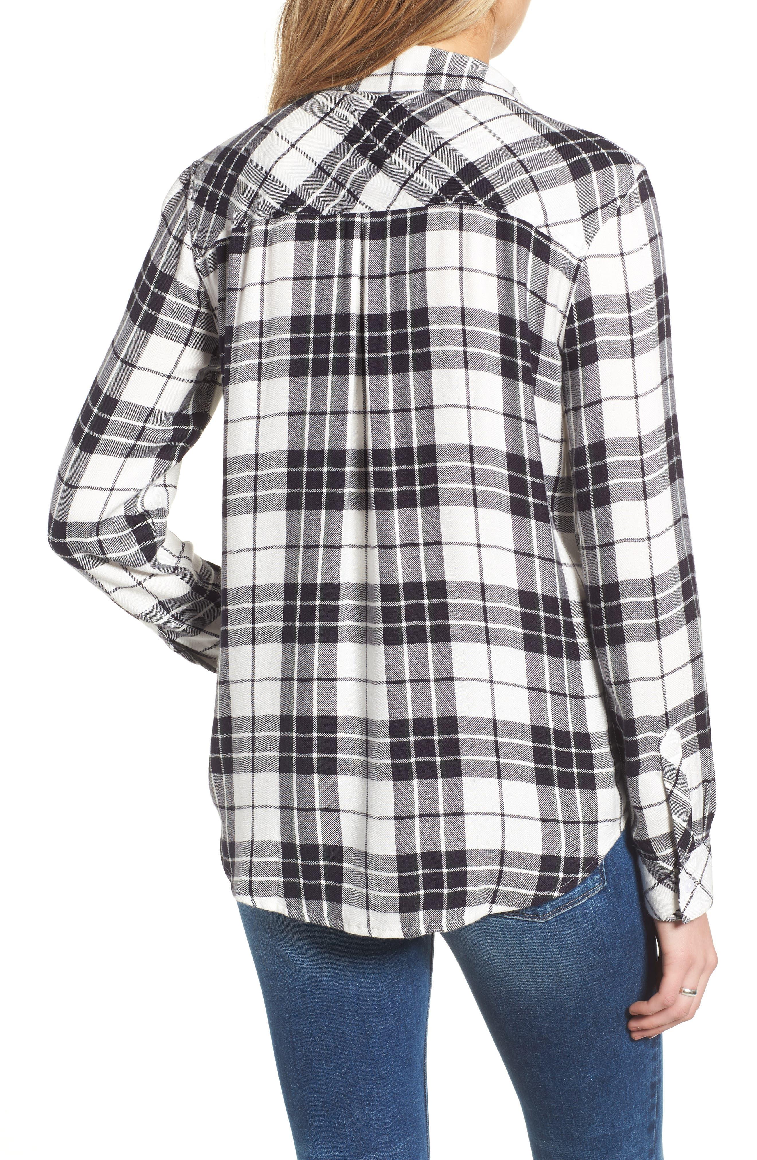 ,                             Hunter Plaid Shirt,                             Alternate thumbnail 493, color,                             005