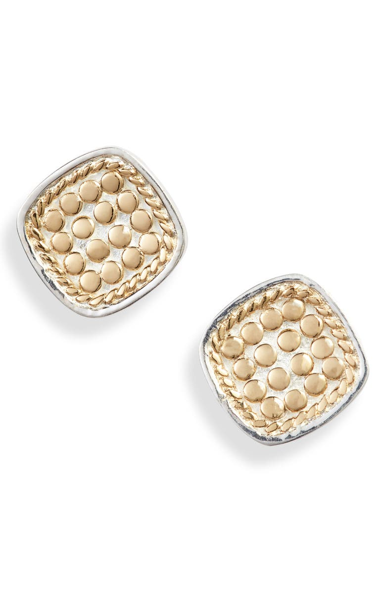 ANNA BECK Cushion Stud Earrings, Main, color, 712
