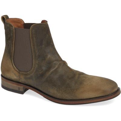 John Varvatos Collection Fleetwood Chelsea Boot, Brown