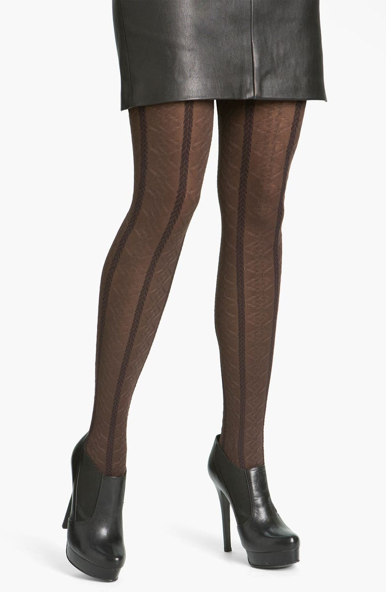 HUE Braided Cable Tights, Main, color, 207
