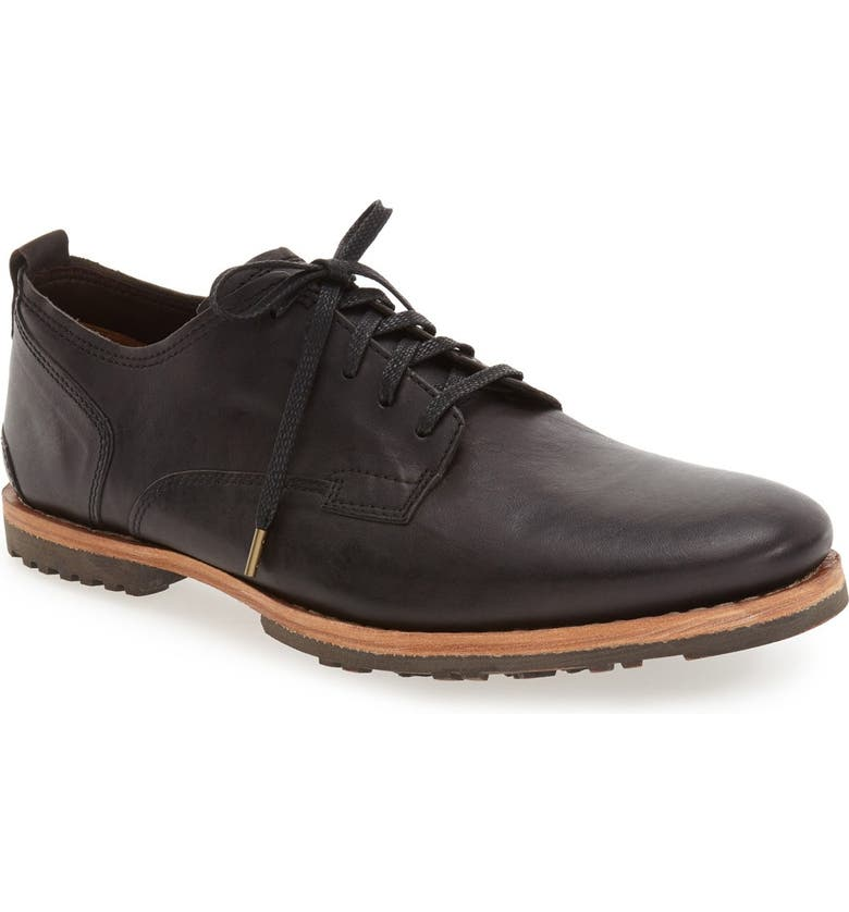 TIMBERLAND Bardstown Plain Toe Derby, Main, color, NINE IRON