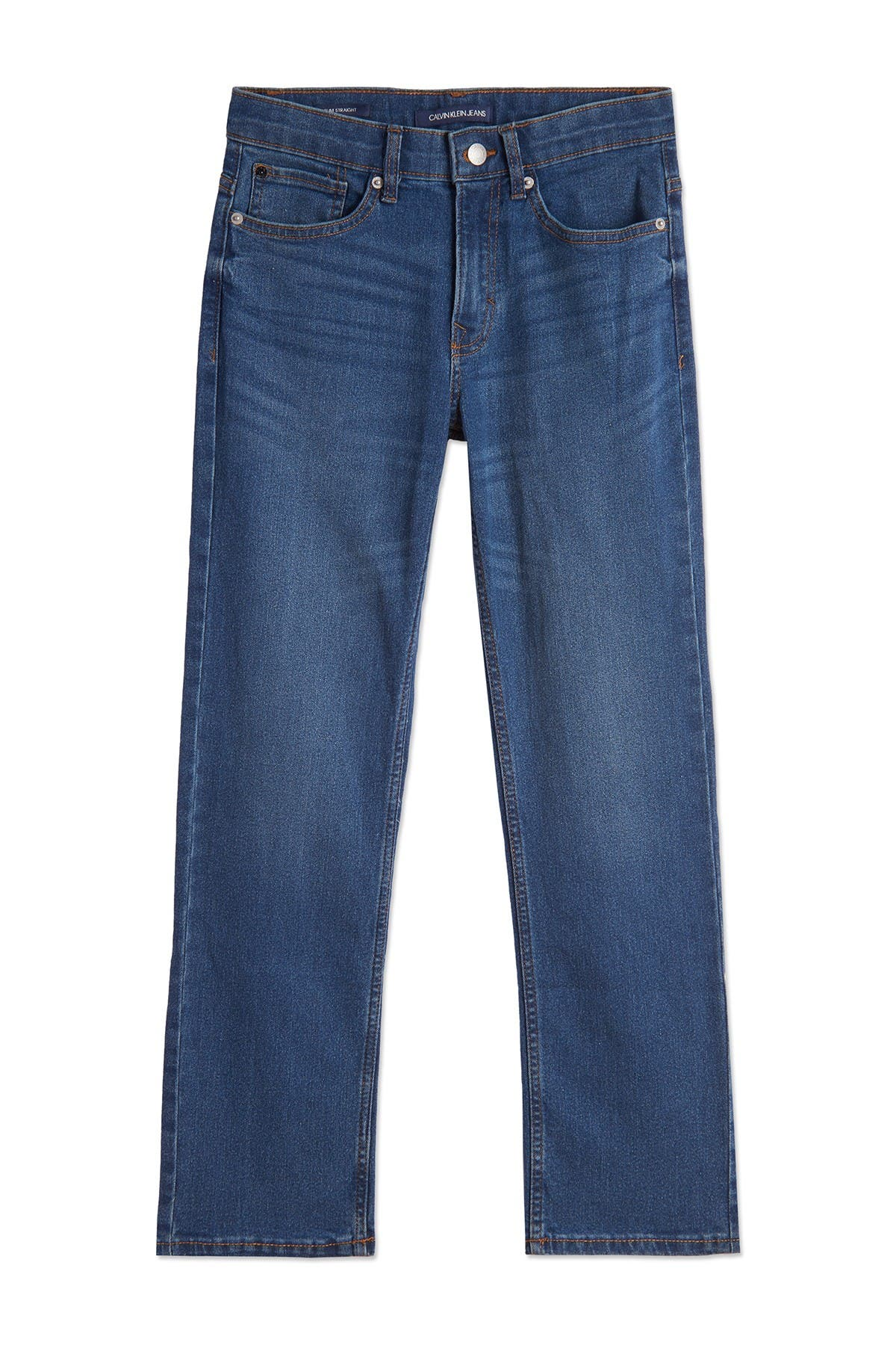 Image of Calvin Klein Slim Straight Denim Jeans
