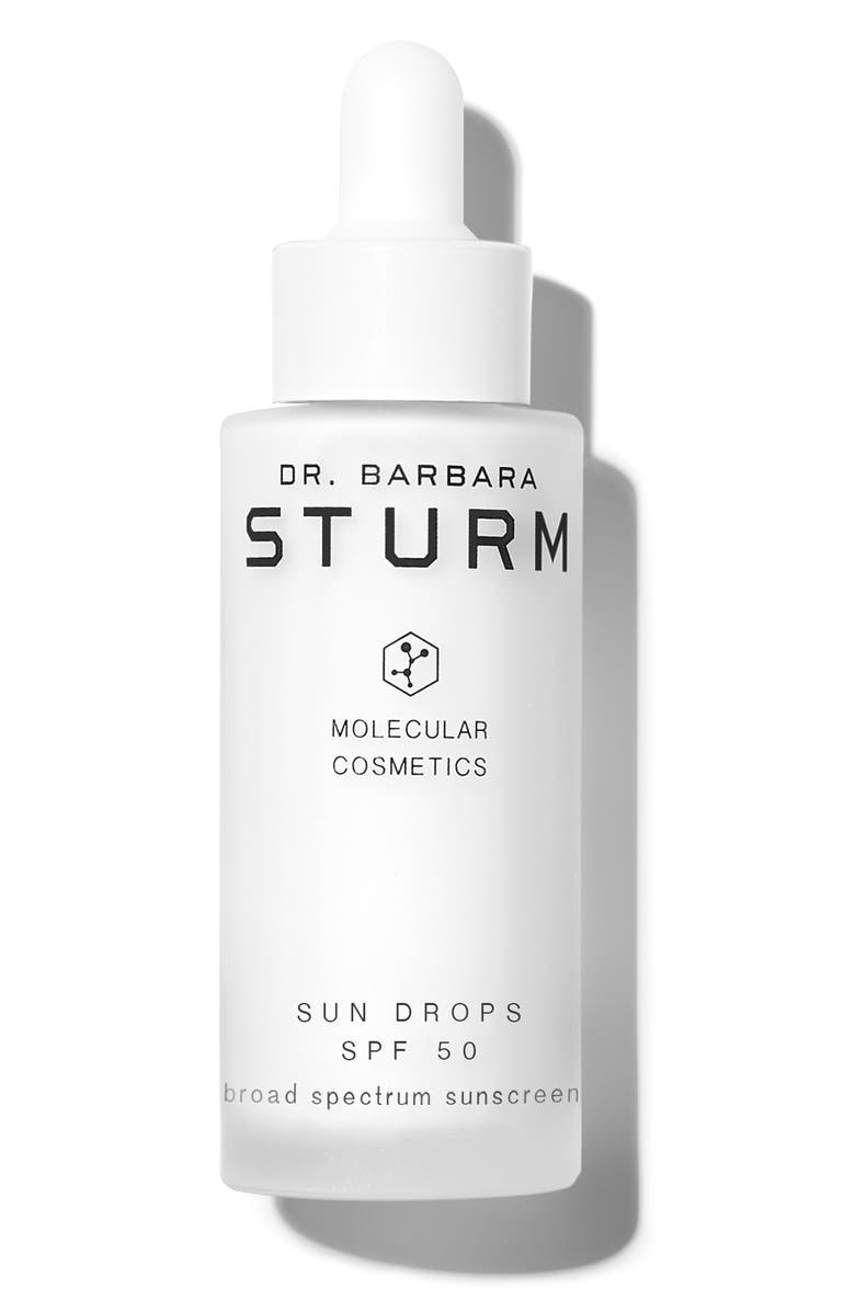DR. BARBARA STURM Sun Drops Serum SPF 50, Main, color, NO COLOR