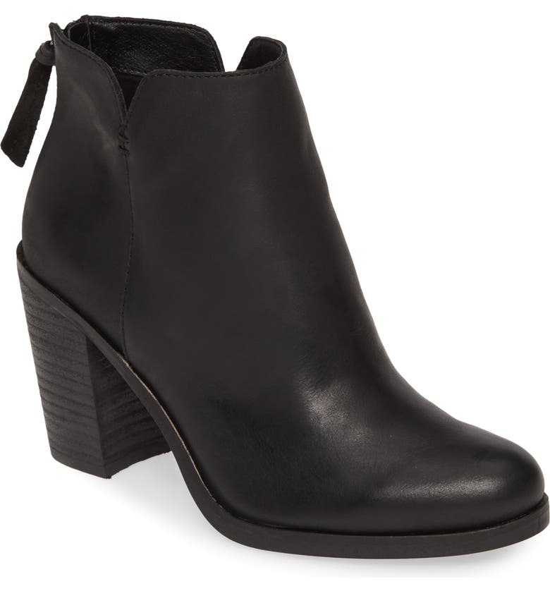 BP. Jett Bootie, Main, color, BLACK LEATHER