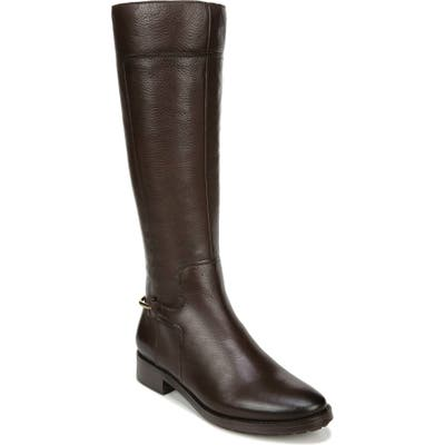 27 Edit Kalani Knee High Boot Wide Calf- Brown
