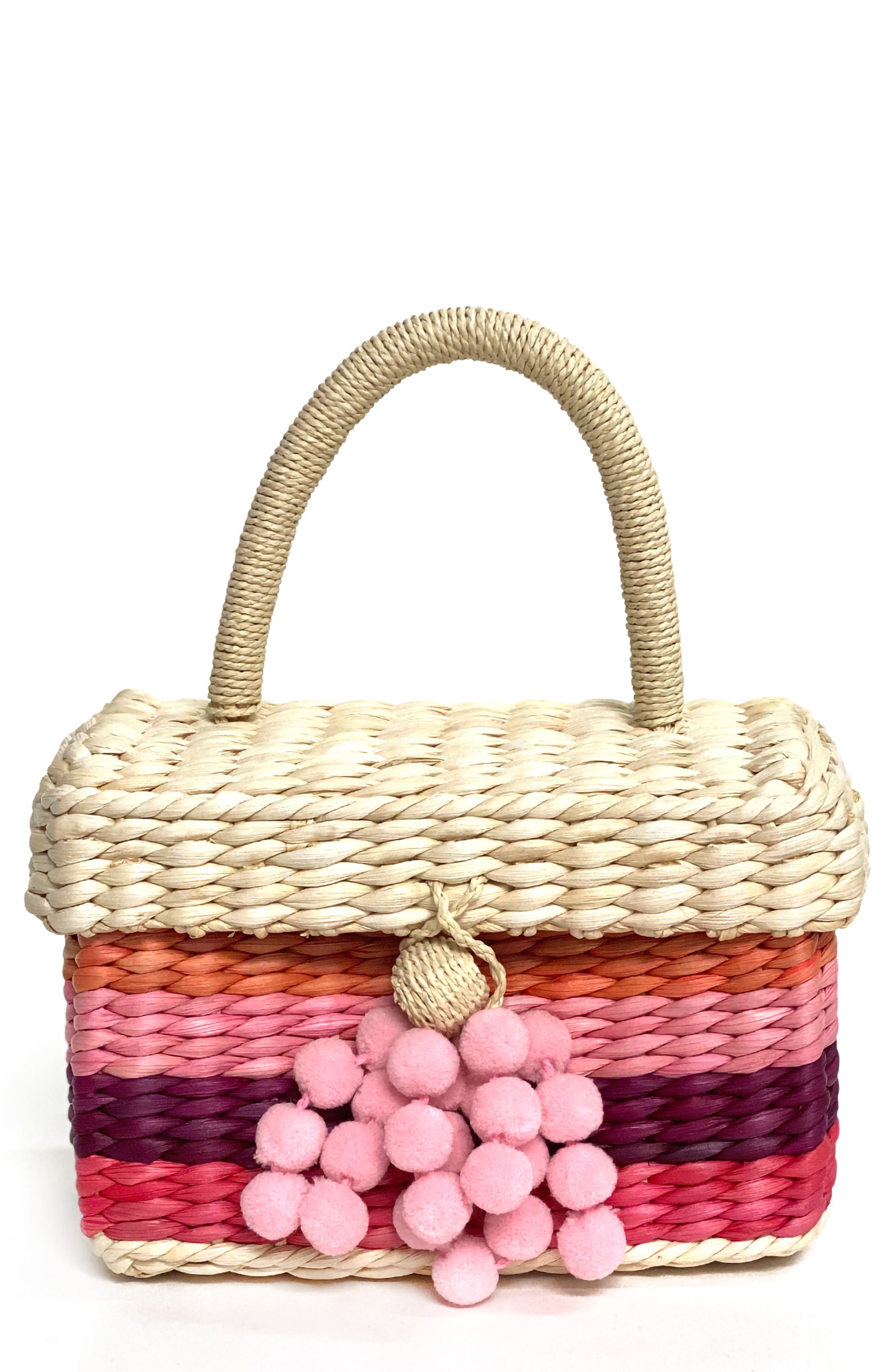 Sandy Beach Woven Basket
