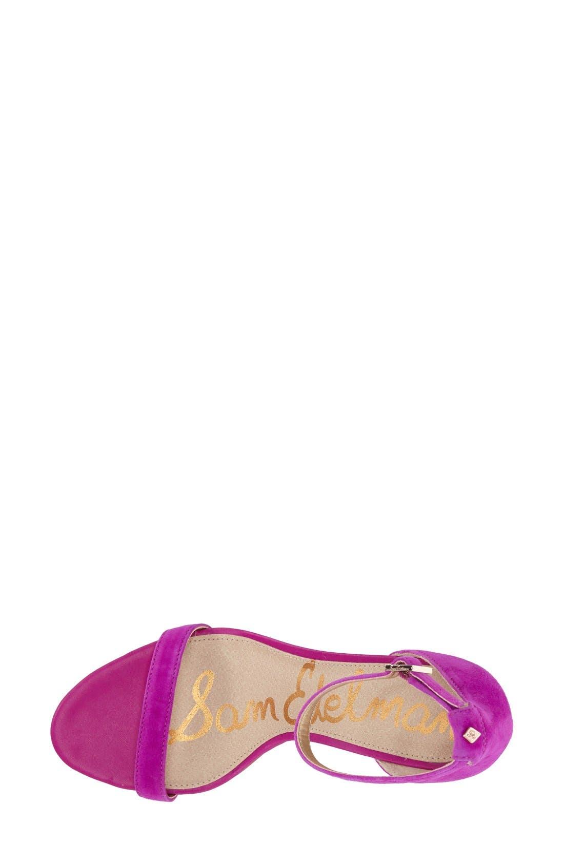 ,                             'Patti' Ankle Strap Sandal,                             Alternate thumbnail 206, color,                             651