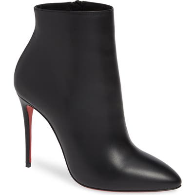 Christian Louboutin Eloise Pointy Toe Bootie, Black