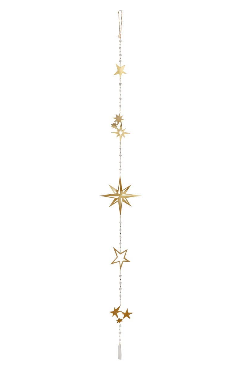 ARIANA OST Crystal Star Wall Hanging, Main, color, GOLD