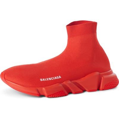 Balenciaga Speed High Slip-On, Red