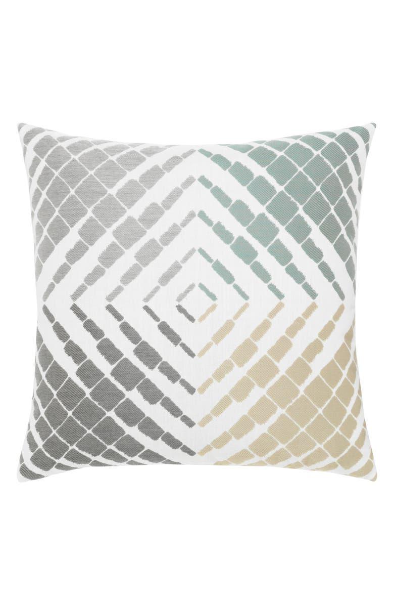 ELAINE SMITH Nexus Indoor/Outdoor Accent Pillow, Main, color, GRAY MULTI