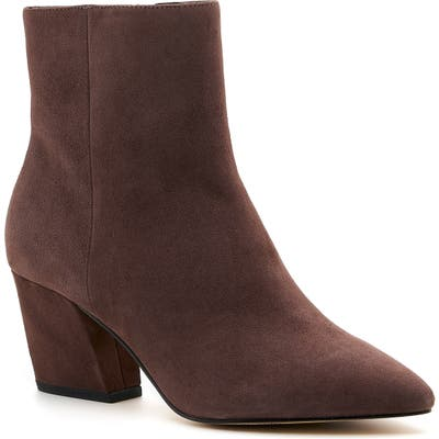 Botkier Sasha Genuine Calf Hair Bootie- Brown