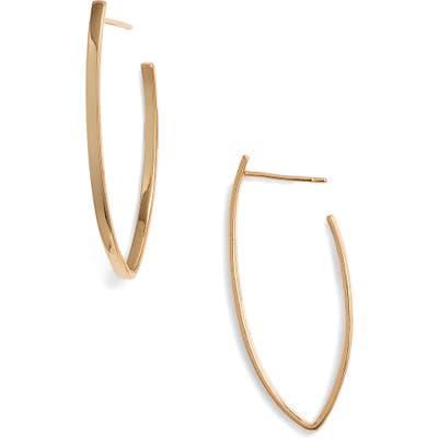 Sterling Forever Gold Drop Earrings