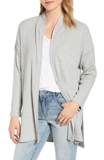 Image of Wit & Wisdom Ribbed Open Cardigan