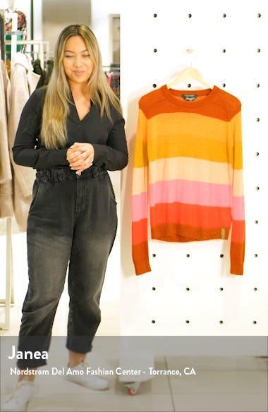 Colorful Stripe Pullover, sales video thumbnail