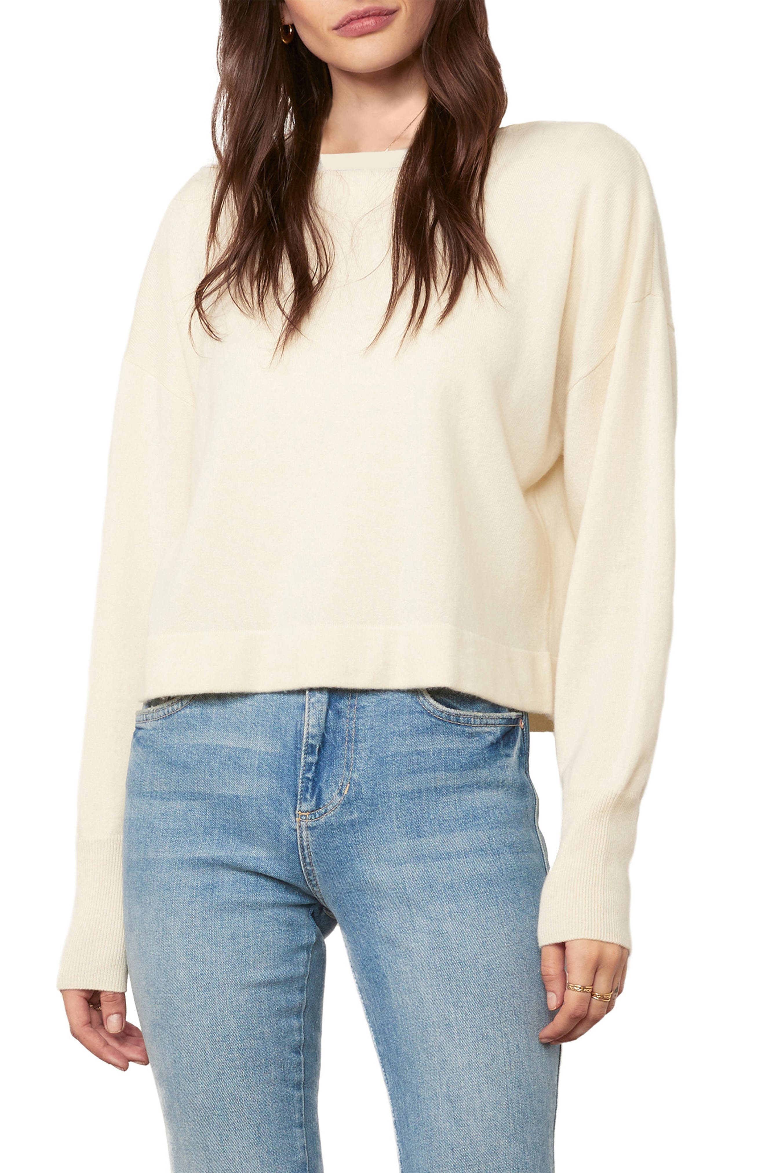 Sumptuous cashmere softens a cropped sweater that\\\'s a cozy style standout. Style Name: Cupcakes And Cashmere Suzie Wool & Cashmere Crop Sweater. Style Number: 6103422. Available in stores.