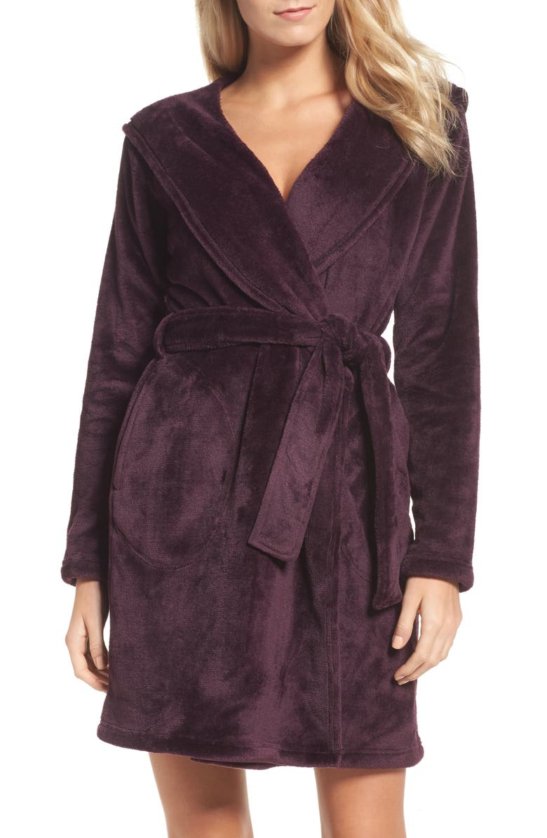 UGG<SUP>®</SUP> Miranda Robe, Main, color, PORT